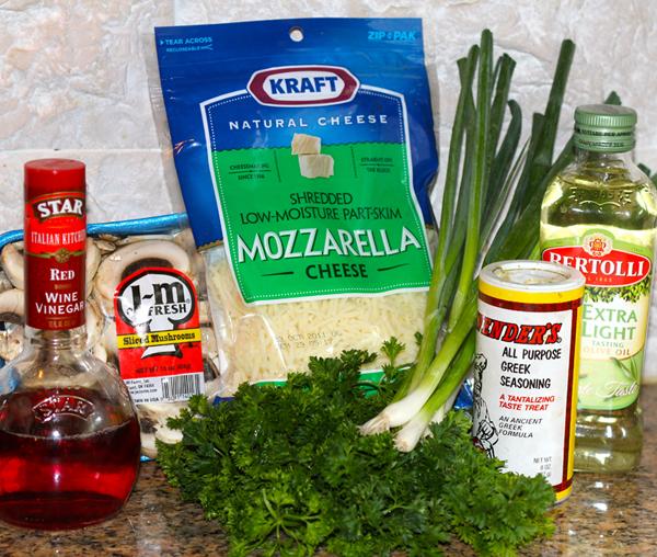 Marvelous Mushroom Mozzarella Salad
